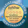 Testsiegel SoftFair: Hanse-Merkur Privathaftpflicht