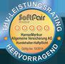 Testsiegel SoftFair: Hanse-Merkur Tierhalterhaftpflicht