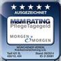 Testsiegel Morgen&Morgen: Münchener Verein Pflegeversicherung