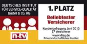 Testsiegel n-tv: Münchener Verein Rentenversicherung