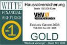 Testsiegel WITTE Financial Services: VHV Hausrat