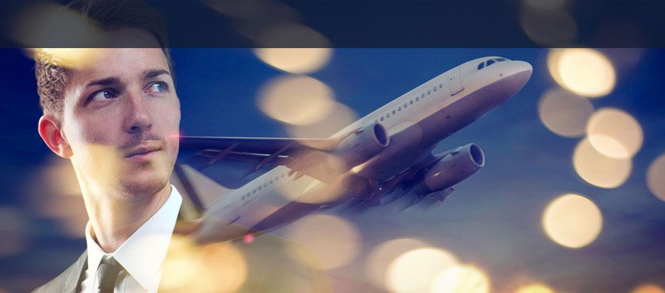 Hanse-Merkur Reiseversicherung Geschäftsleute