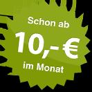 ab 10.00 Euro im Monat