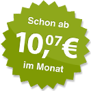 ab 10.07 Euro im Monat