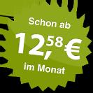 ab 12.58 Euro im Monat