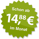 ab 14.88 Euro im Monat