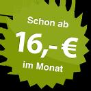 ab 16.00 Euro im Monat
