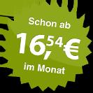 ab 16.54 Euro im Monat