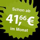 ab 41.66 Euro im Monat