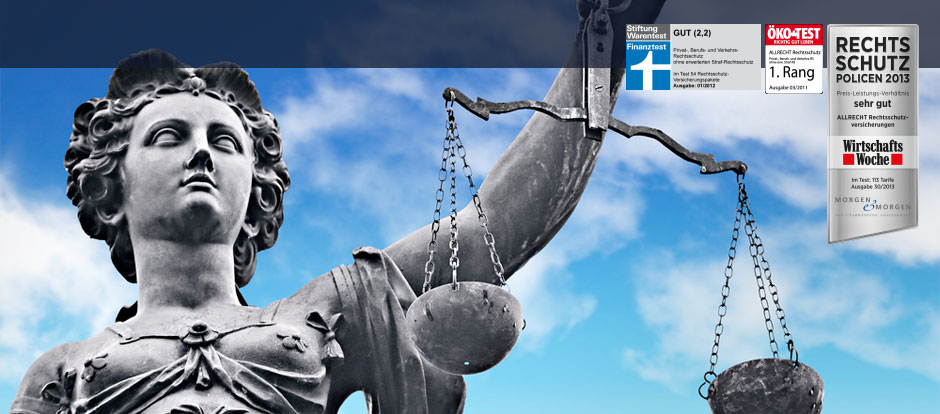 Rechtsschutzversicherung Allrecht