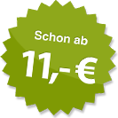 ab 11.00 Euro