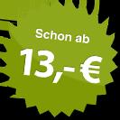 ab 13.00 Euro