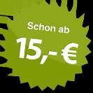 ab 15.00 Euro